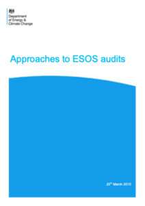 DECC Approaches to ESOS audits guide